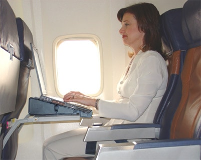 Airplane Laptop Stand