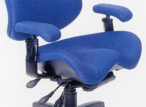 Contoured Seat Pan Office Chair