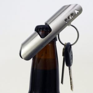 bottle opener phone stand