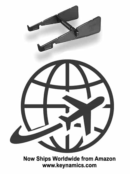laptop stand ships worldwide